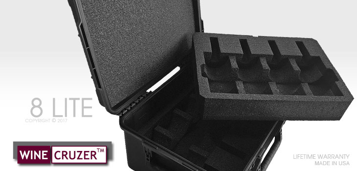 8-Wine Carrying Case WineCruzer Lite