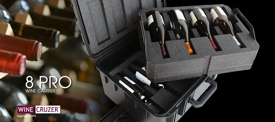 wine carrier for 8 bottles