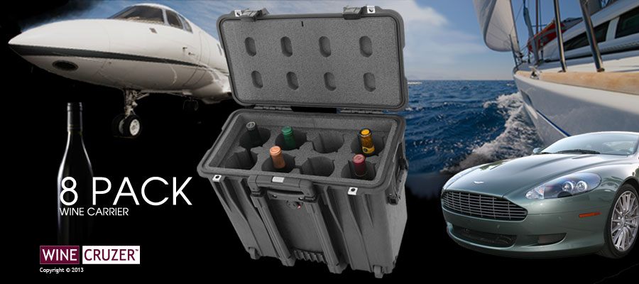 Wine Carriers Hard Cases For A World Of Travel Winecruzer