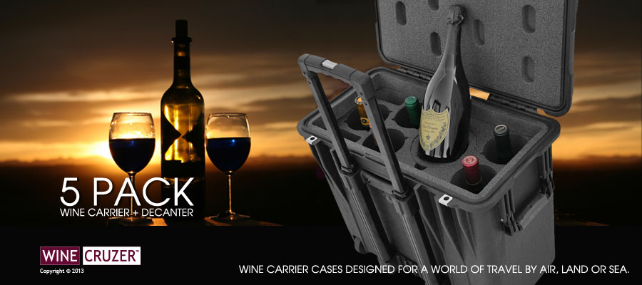 wine case for air travel