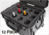 12 pack wine traveling case