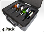 four pack wine carrier