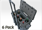 6 pack wine carrier