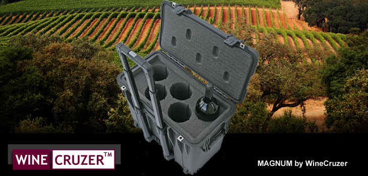 Magnum 5 Pack Wine Carrier by WineCruzer